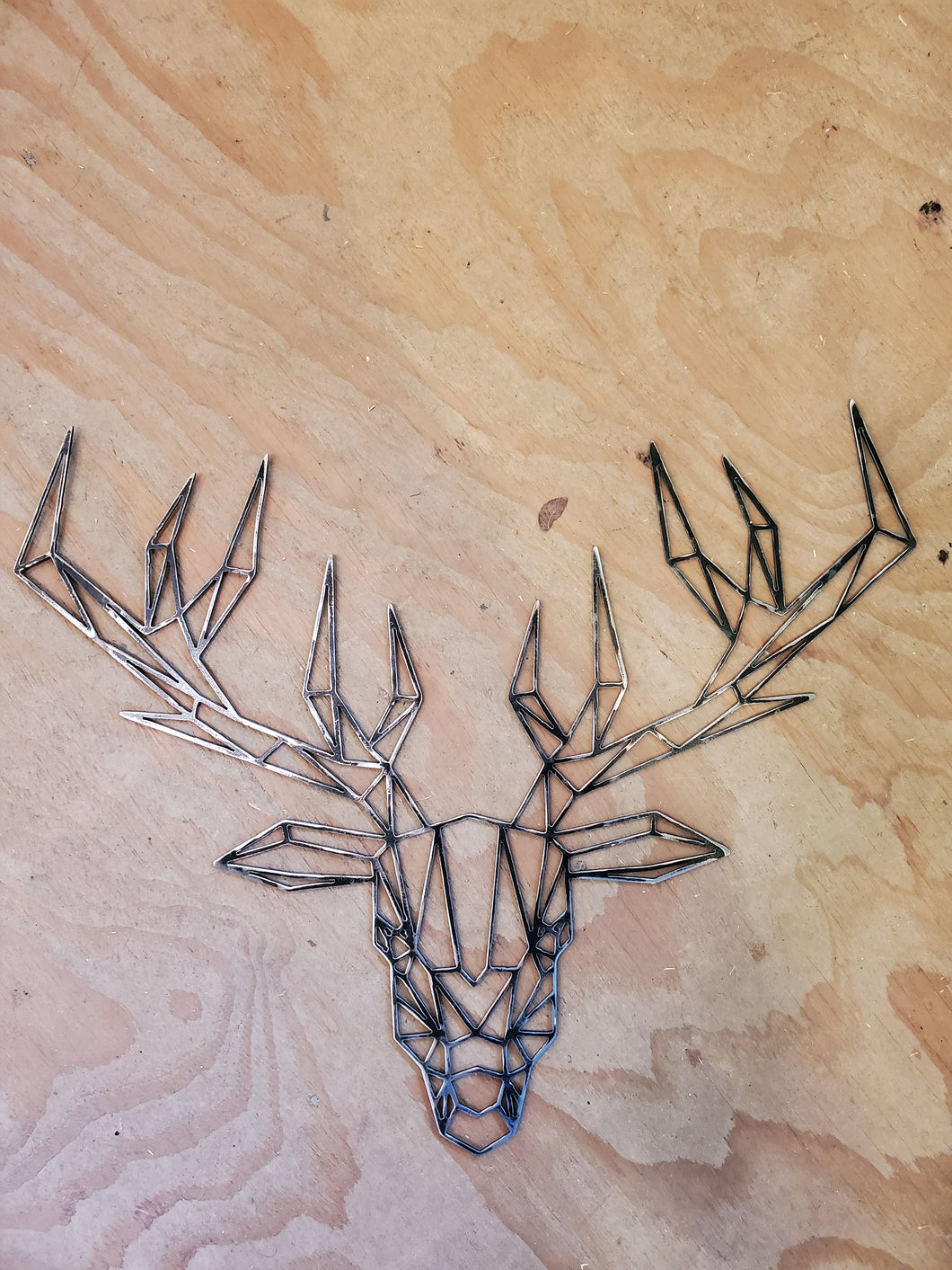 Geometric Stag/Deer wall art - 1/8