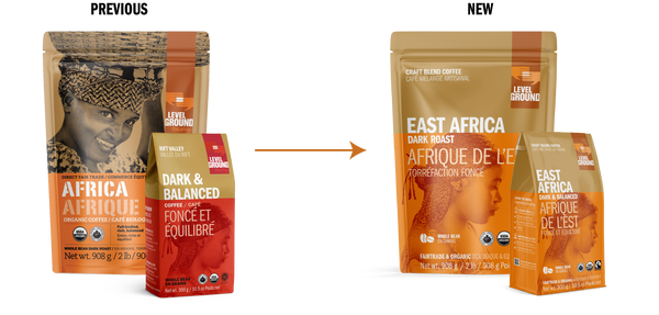 New East Africa Coffee package