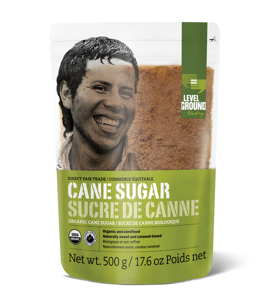 Organic cane sugar, 500 gram bag