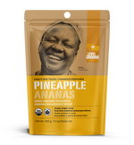 Organic dried pineapple, 100 gram package