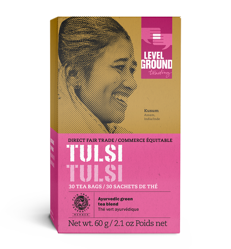Box of 30 tulsi tea bags, 60 grams