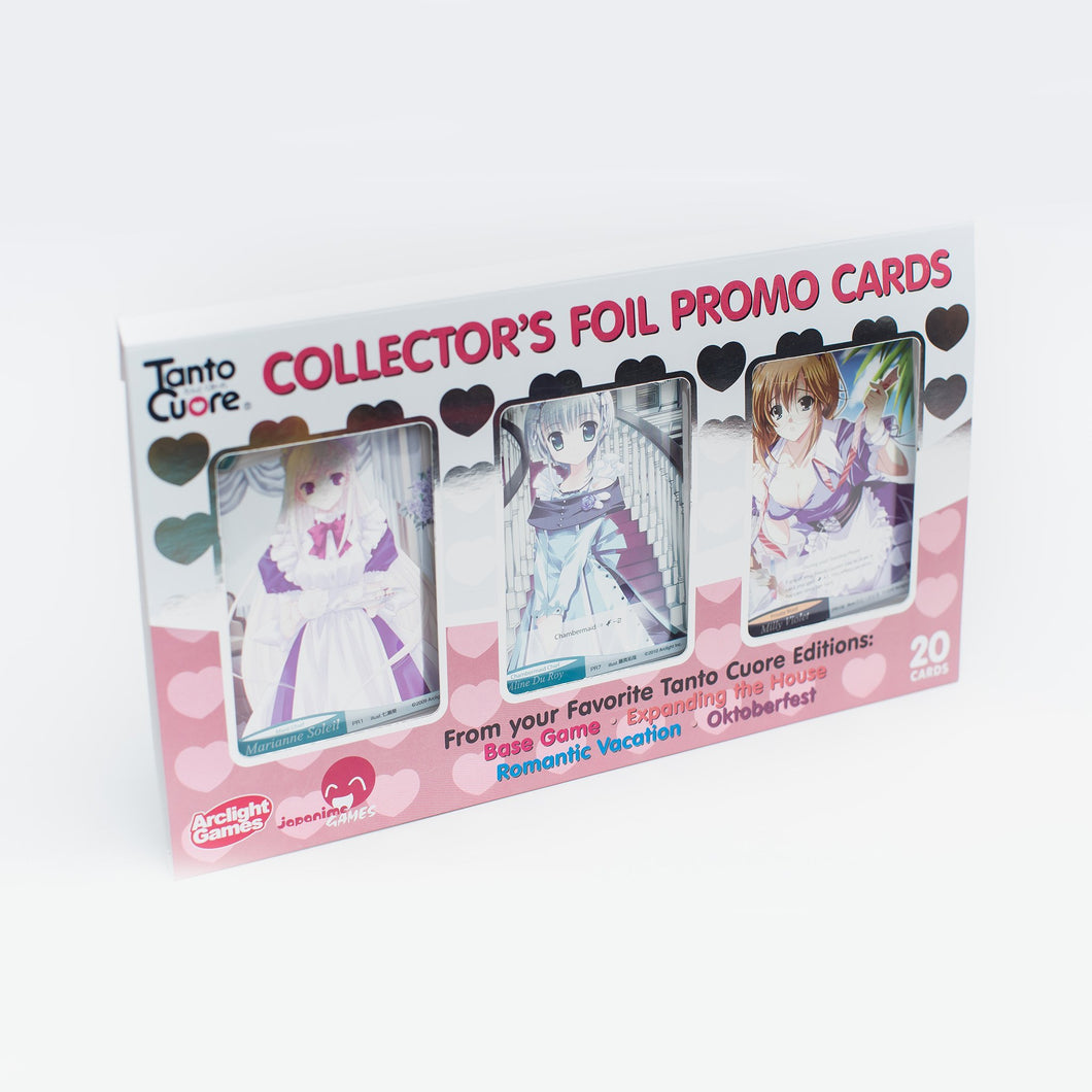 Tanto Cuore Foil Card Set (T1-4)