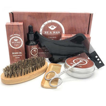 Load image into Gallery viewer, NEW 6pcs/set Men Beard Kit
