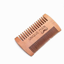 Load image into Gallery viewer, Natural Pear Wood Beard Comb