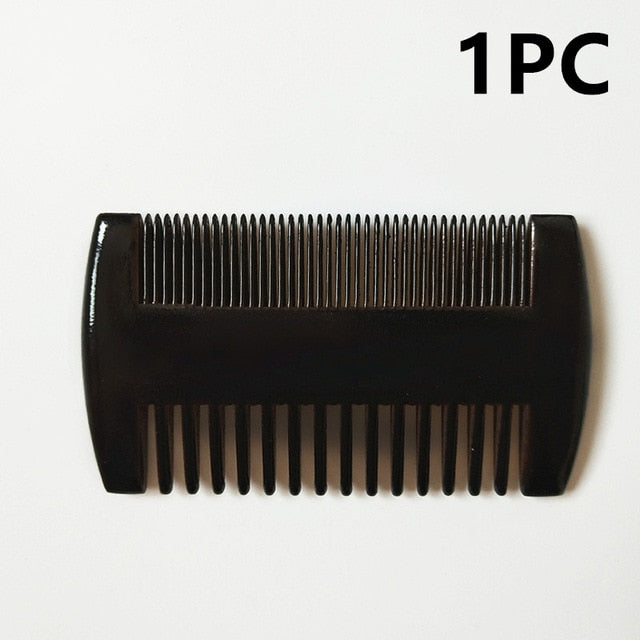 Natural Pear Wood Beard Comb