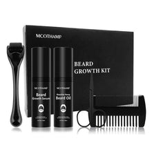 Load image into Gallery viewer, 4 Pcs/set Men Beard Growth Kit