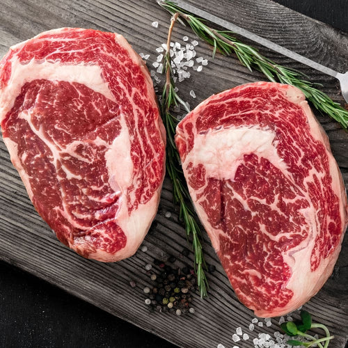 This 16oz Prime Boneless Ribeye is CB's most popular steak with just the right amount of fat to meat ratio. Of all the beef produced in the U.S., only 2% is certified prime grade by the USDA. Our USDA prime beef comes from the very finest corn-fed cattle the Midwest has to offer. The Crooked Butcher personally know each and every producer that we work with to ensure that you only get the highest of quality meat with the most mouth watering flavor.