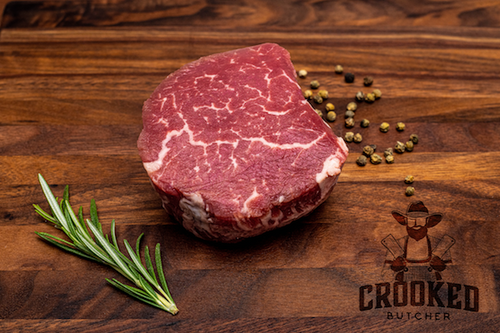 Enjoy and compare the finest Ribeye Steaks from around the world.   Miyazakigyu Japanese A5/+ Tenderloin 6oz avg  MS7+ graded Australian Wagyu Tenderloin 6oz avg  PV Umami Wagyu A4 Tenderloin 6oz avg  USDA Prime Boneless Tenderloin 8oz, crooked butcher