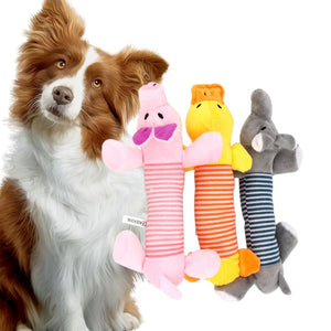 Squeaky Chew Dog Toys Funny