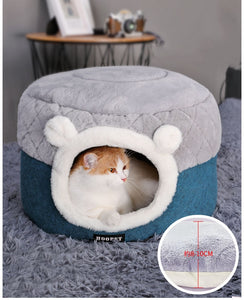 Soft Cat/Puppy House Pet Cushion Bed