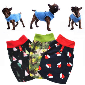 Warm Fleece Clothes For Small Medium Dogs