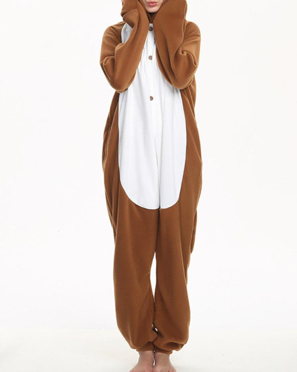 EXO's Concert Costume Animal Cute Long Sleeve Sleepwear Jumpsuit