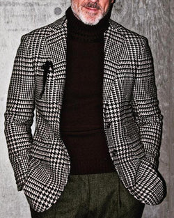 Pliad Long Sleeve Fit Business Single Breasted Coats