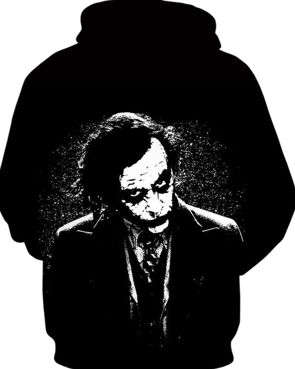 Batman Joker Print Long Sleeve Hoodies Sweatshirts