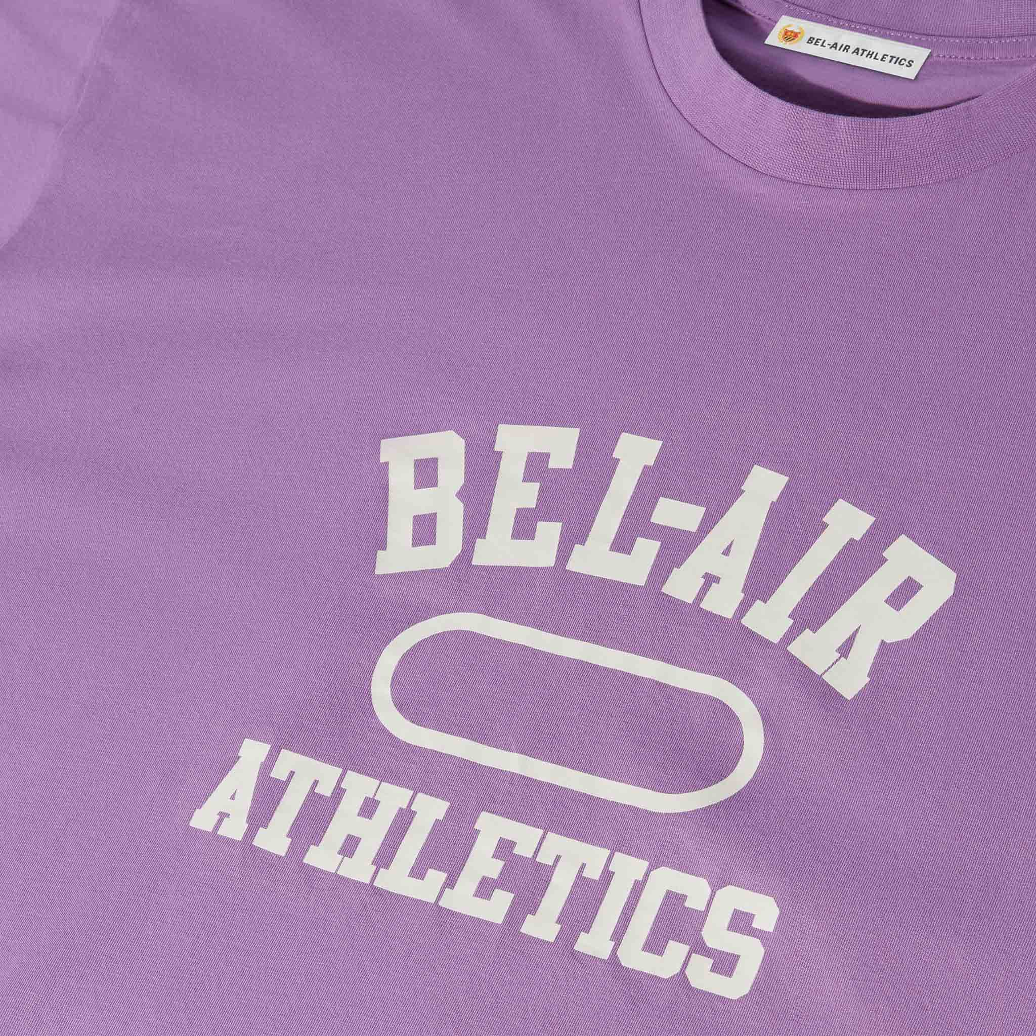 Gym Logo T-Shirt - Sorority Pink with Chalk White print