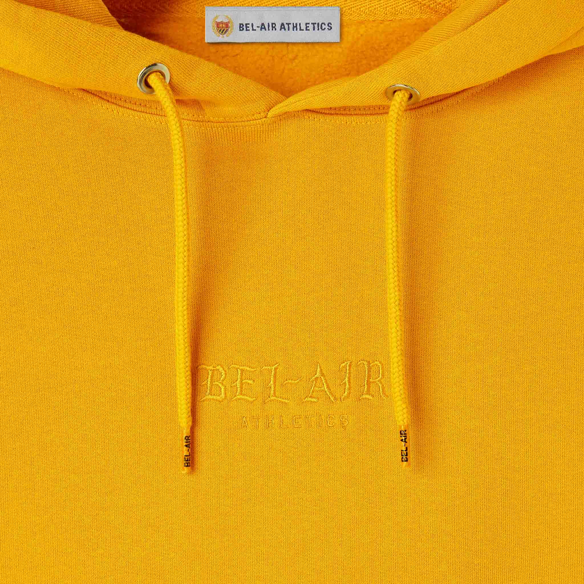 Gothic Font Hoodie - GOLD