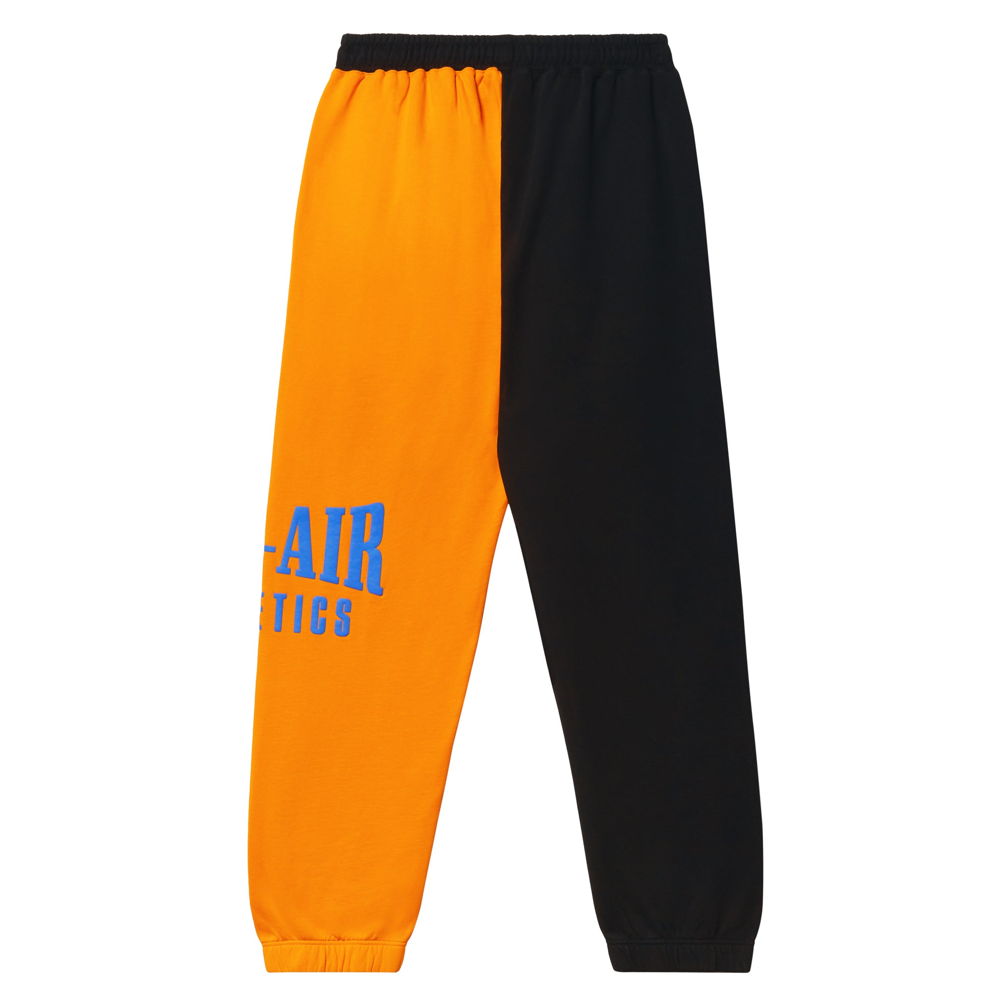 Puff Logo Sweatpant - Coloblock Sunset/Vintage Black