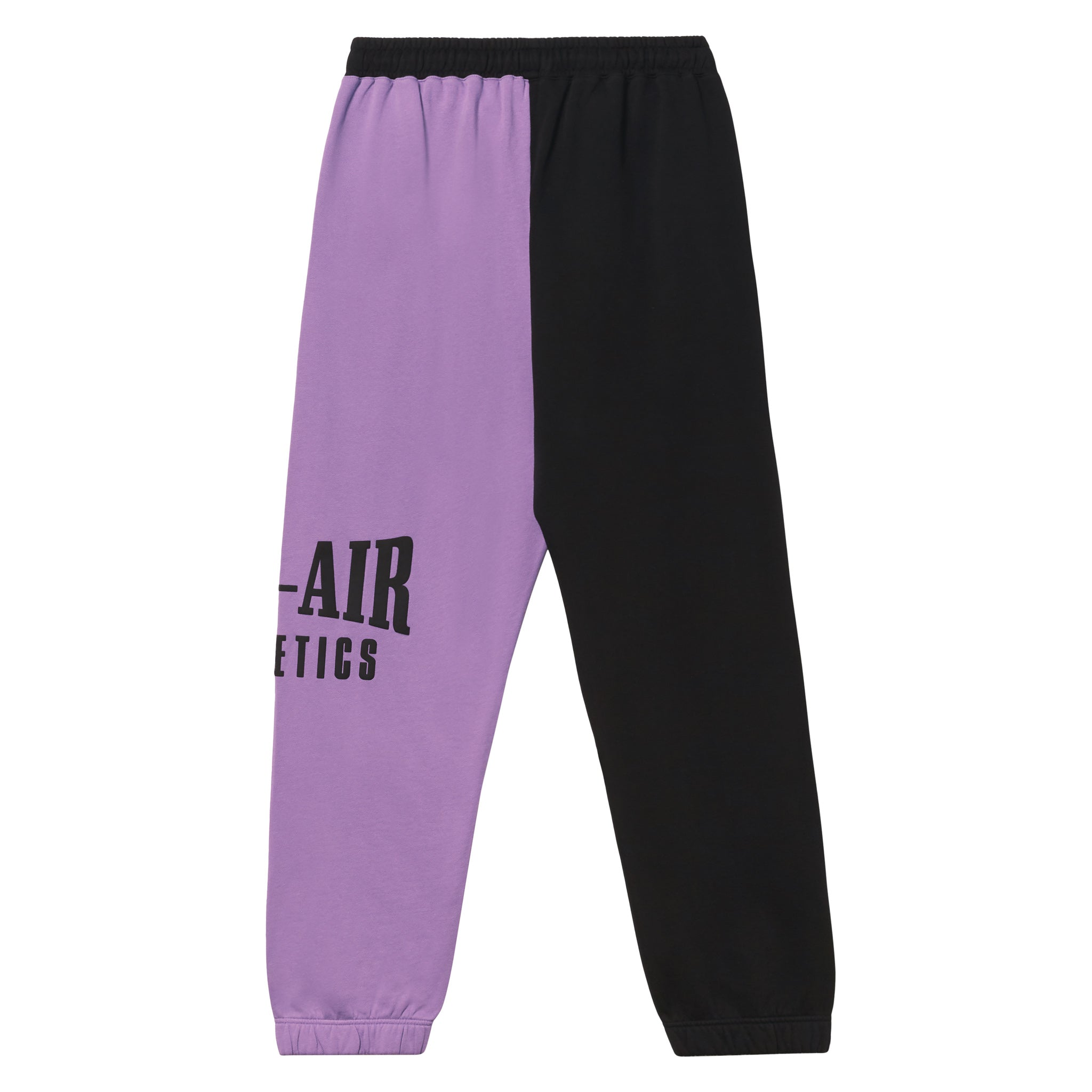 Puff Logo Sweatpant - Colorblock Sorority Pink/Vintage Black