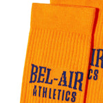 Bel Air Athletics Socks - Sunset with Varsity Blue jacquard