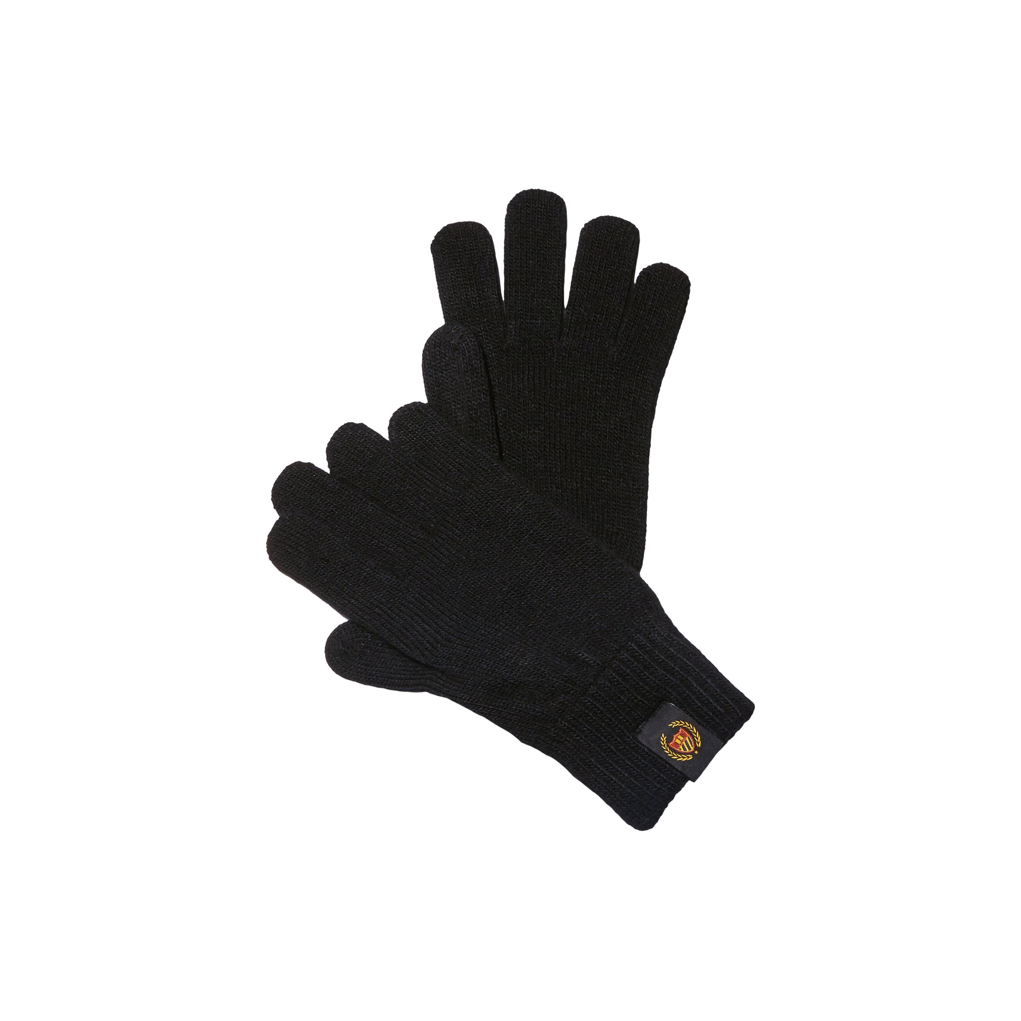 Academy crest Gloves - VINTAGE BLACK