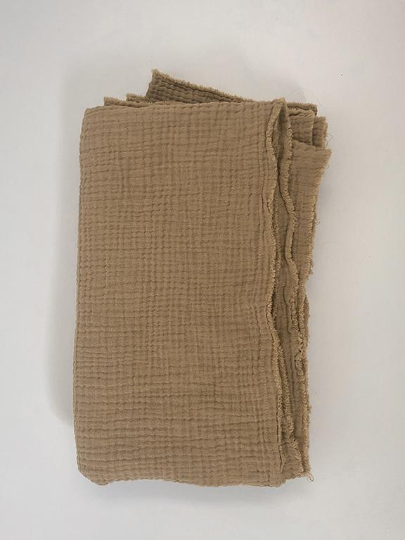 The Muslin Swaddle    Camel