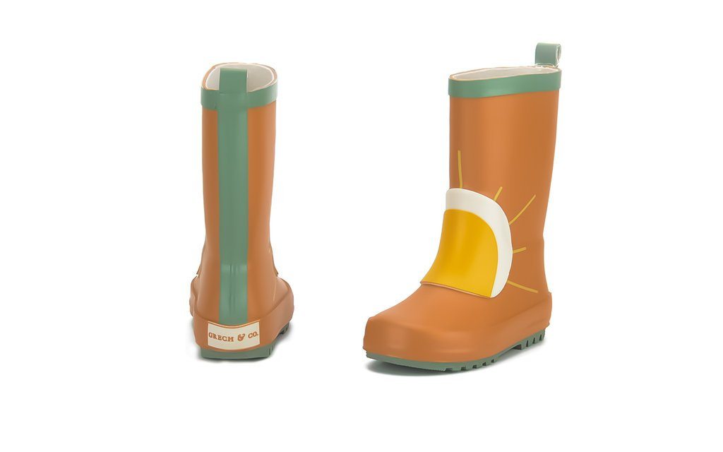 Natural Rubber Boots || Sun Spice