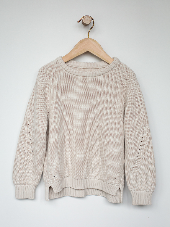 The Essential Sweater || Oatmeal