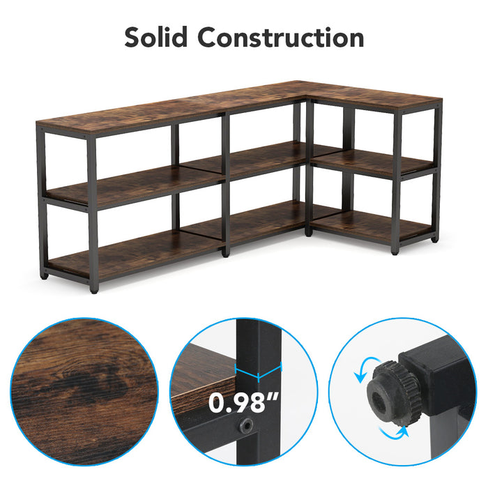 Tribesigns 70.9 inches Extra Long Console Sofa Table Behind Couch