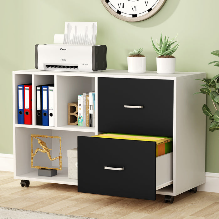 Tribesigns 2-Drawer Lateral File Cabinets Legal Size,Home Office