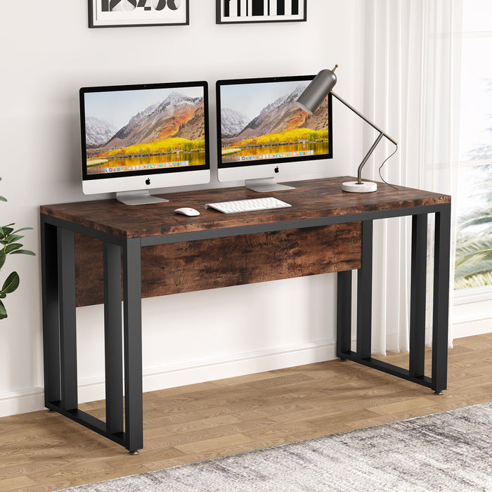 Tribesigns Computer Desk, 55 inch Modern Simply Large Office Desk Computer Table