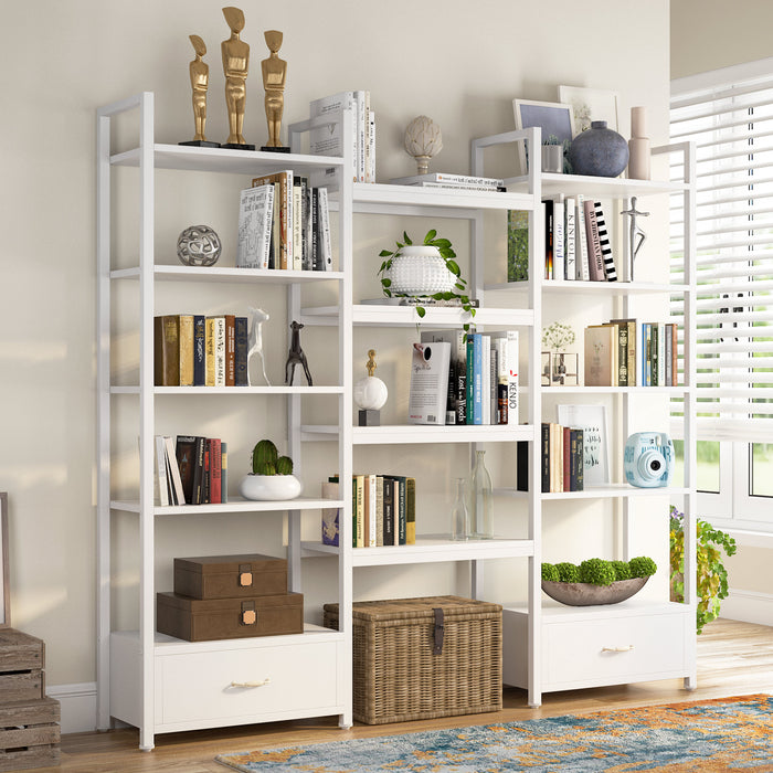 L Shaped Rotating Standing Desk, Industrial 360 Degrees Free Rotating Corner Desk