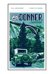 Illustration of vintage car at Donner Memorial State Park