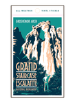 Illustration of tourist at Grand Staircase Escalante National Monument