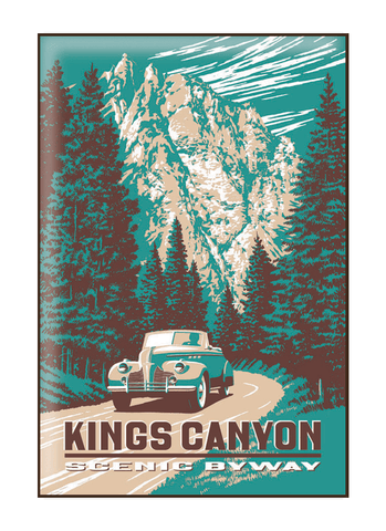 Kings Canyon Magnet