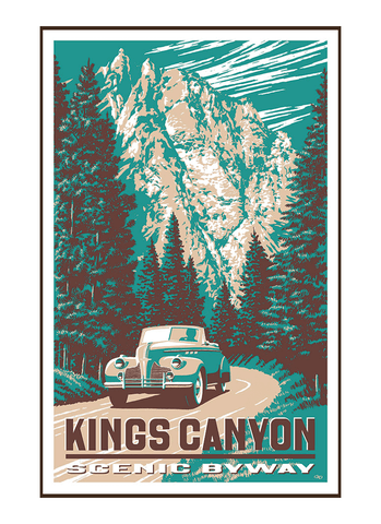 Kings Canyon Poster