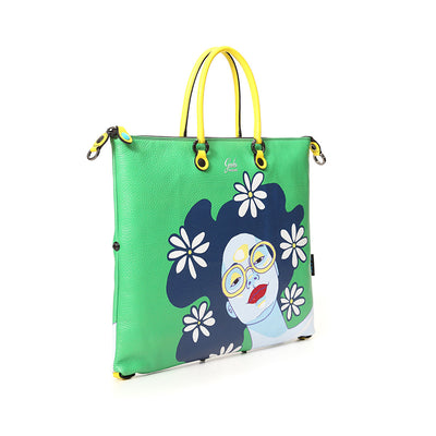 Borsa shopping piatta trasformabile G3SUPER  Linea LAB - GABS