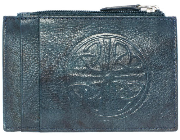 Celtic Leather I.D. Holders with RFID Blocking Technology - Multiple Colors