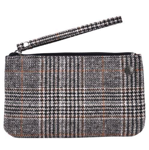 Celtic Plaid Wristlet