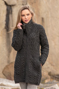 Glendalough Double Collar Coat