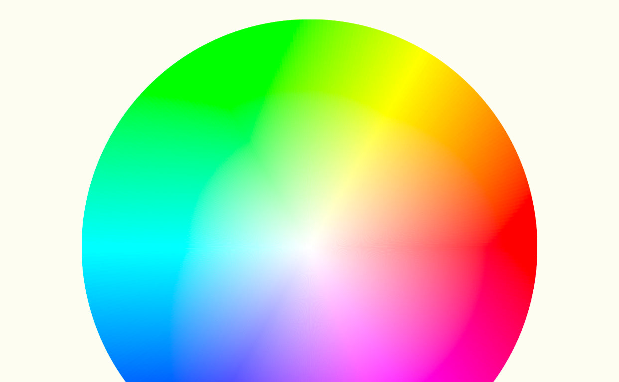 Color picker from app