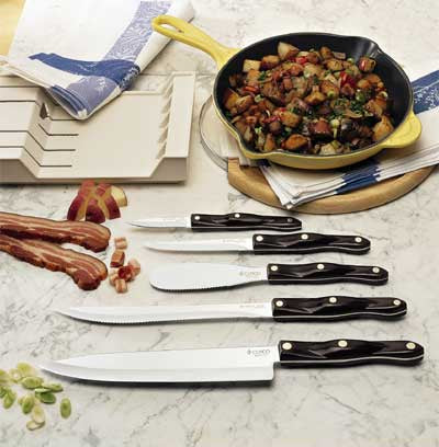 All Knife Set With Tray (French Chef Version)