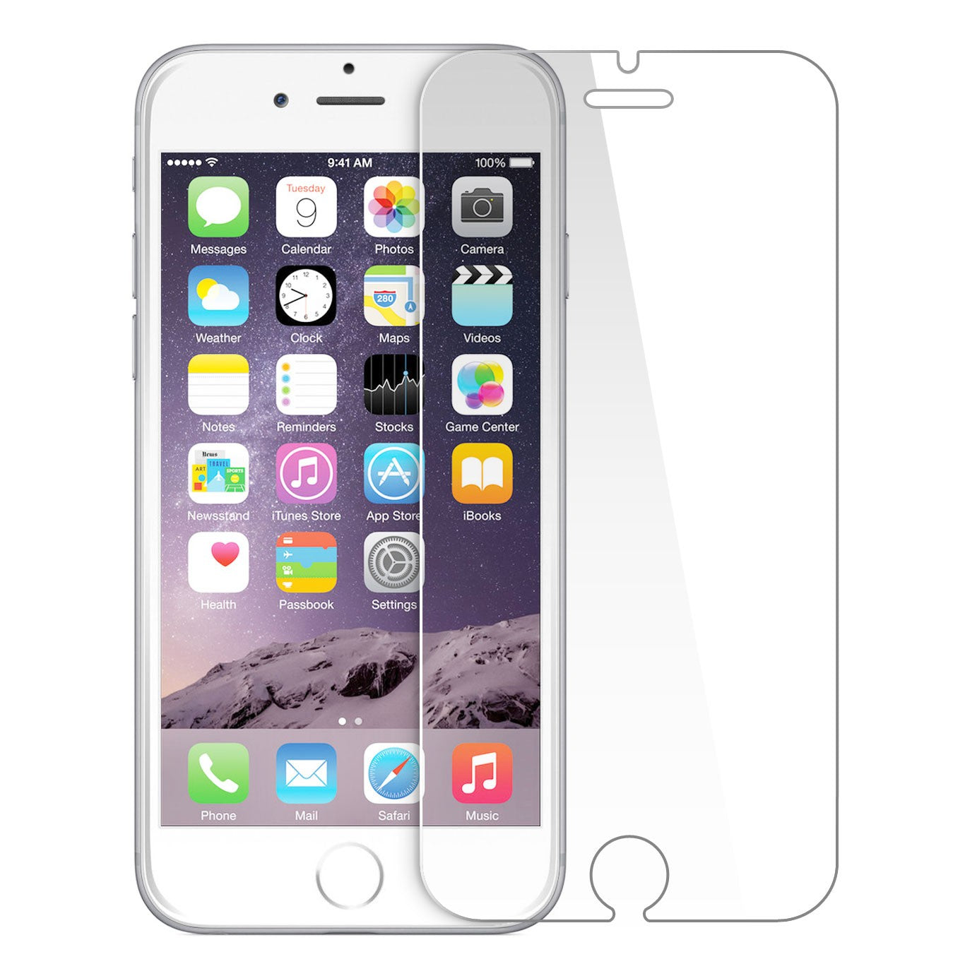 iPhone 6+/6s+ Tempered Glass Screen Protector