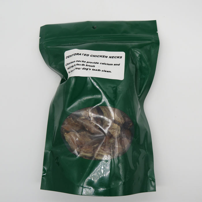 Dehydrated Chicken Necks - 100g Pkg