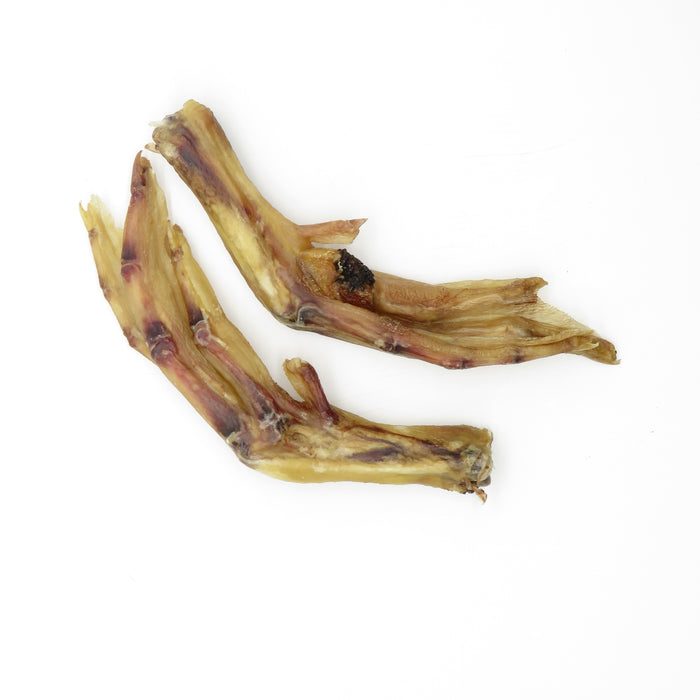 Dehydrated/Smoked Duck Feet 170g Pkg
