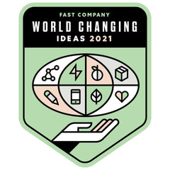 FAST COMPANY 2021 WORLD CHANGING IDEA