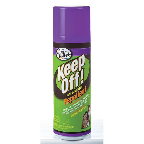 Four Paws  Keep Off!® Cat & Kitten Repellent Spray for Indoors & Outdoors