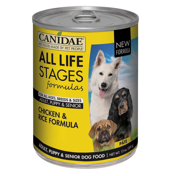 Canidae All Life Stages Chicken and Rice Canned Dog Food