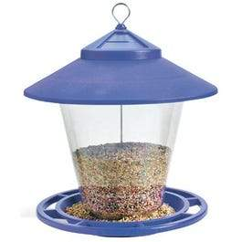 Hopper Granary Bird Feeder, Assorted Colors, 4-Lb.
