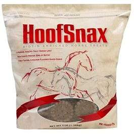 Horse Treats, HoofSnax With Biotin, 3.2-Lbs.