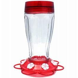 Big Gulp Hummingbird Feeder, Glass Bottle, 40-oz.